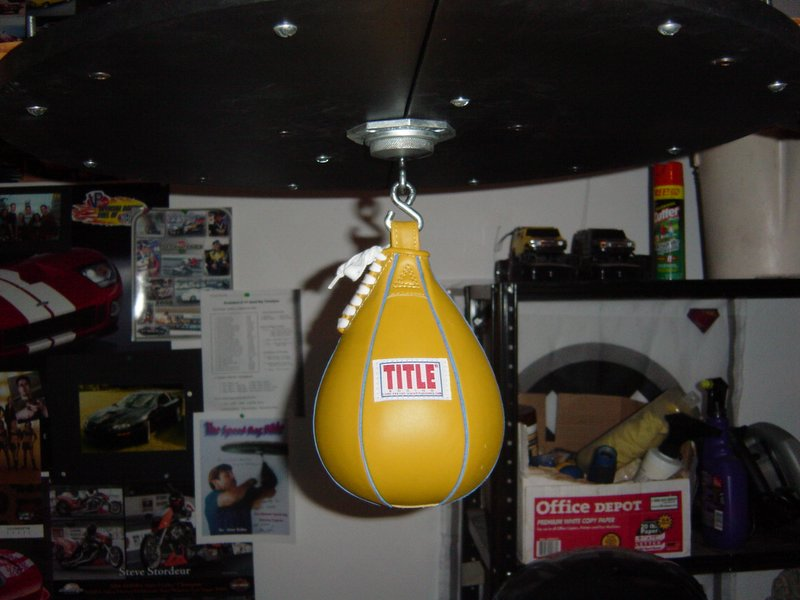 I Also Have A Ringside 9x6 Speed Bag, Itu0027s Not Leather But I Like It. Nice  And Smooth Texture So Itu0027s Easy On The Hands. I Like The Streamlined Feel  Of ...
